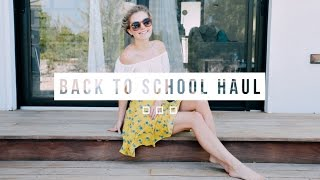 BACK TO SCHOOL CLOTHING HAUL! | Aspyn Ovard by Aspyn Ovard