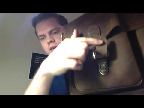 REVIEW Kattee Handmade Genuine Leather Laptop Briefcase Messenger Bag