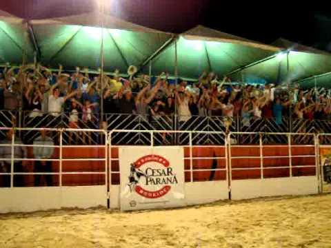 Equipe César Paraná Rodeio Show em Coronel Freitas - SC