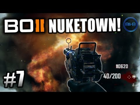 BLACK OPS 2 Nuketown Zombies! Ali-A LIVE Part 7! - Call of Duty: BO2 Nuketown Zombies Gameplay