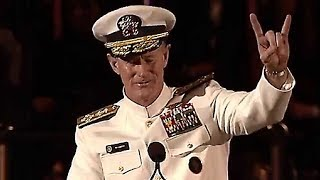 Video Admiral McRaven Leaves the Audience SPEECHLESS | One of the Best Motivational Speeches MP3, 3GP, MP4, WEBM, AVI, FLV Februari 2019