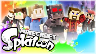 We must color the floors in this wild game of Minecraft Splatoon, a game created by SethBling where two teams must use different classes in an attempt to cov...