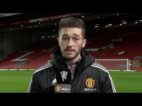 Piece To Camera Before Liverpool U23 Vs Man Utd U23 (MUTV)