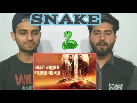 SNAKE - Deep Jandu ft. Karan Aujla | REACTION !