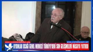 Aydınlar Ocağı Genel Merkezi Türkiye'deki Son Gelişmeleri Masaya Yatırdı 2