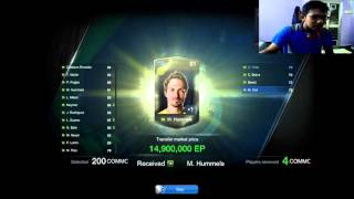 FIFA ONLINE 3 - Open every PACK PLAYER ALL SEASON !!!, fifa online 3, fo3, video fifa online 3