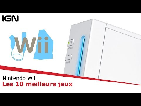 TOP : Les 10 MEILLEURS jeux de la WII !