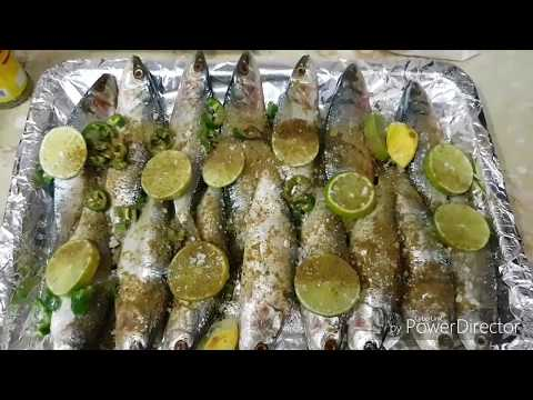 Egyptian  Sardines Grilled In Oven