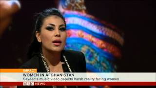 BBC WORLD NEWS SPEAKS TO AFGHAN POP STAR ARYANA SAYEED