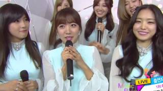 Download Lagu 141212 Apink (에이핑크) & Infinite F - Interview @ Music Bank Mp3