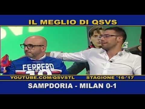 qsvs - i gol di sampdoria - milan 0 a 1