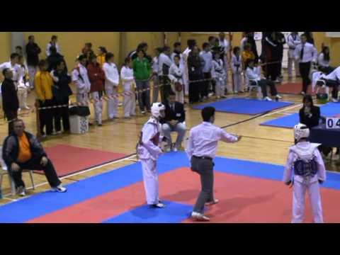 Copa cadete de Taekwondo l´Olleria 2011