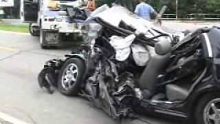 SEMI TRUCK VS CAR-HEAD ON ACCIDENT  Joliet,IL 444480 YouTube-Mix