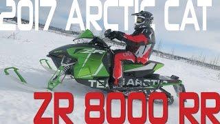 1. STV 2017 Arctic Cat ZR 8000 RR