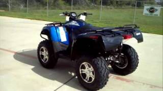 7. Review: 2012 Arctic Cat 700 I GT in Viper Blue
