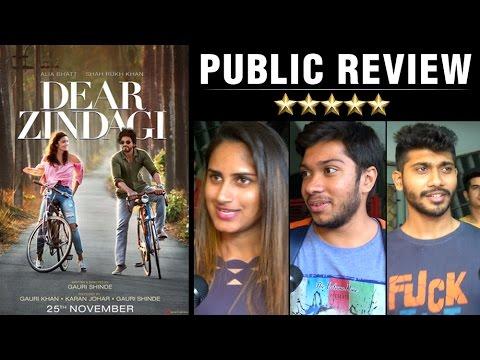 Dear Zindagi Public Review | Shah Rukh Khan, Alia