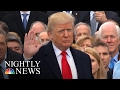 President Donald Trump: The 45th President Of The United States   NBC Nightly News