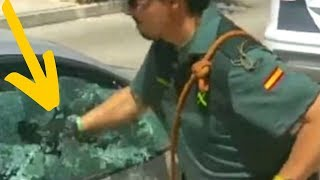 Cop Sees Something Move In The Window Of A Frozen Car And Everything Changes by Did You Know Animals?