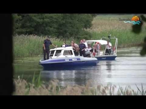 Pościg, zakładnicy i szturm na jeziorze