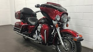 10. 2012 HARLEY-DAVIDSON FLHTCU SOLD Electra Glide Ultra Classic ABS 103 Cu In Security  Munro Motors