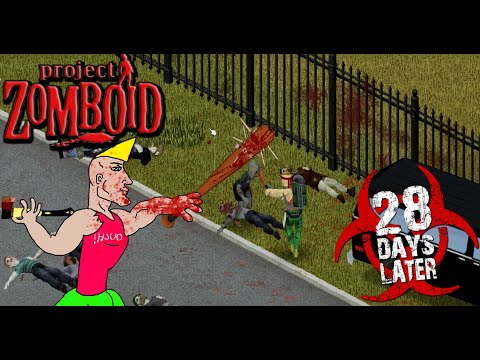 MAD BATTER | Project Zomboid Build 41 28 Days Later Sprinter Challenge S2 #3