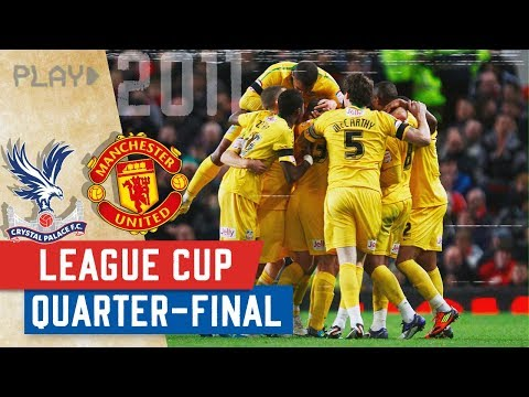 Manchester United V Crystal Palace | Famous Old Trafford Win 2011