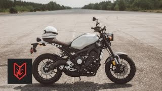 7. Yamaha XSR900 Review at fortnine.ca