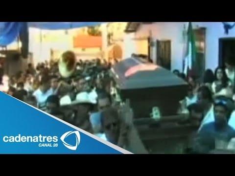Despiden con música de banda a Edgar Tamayo; lo entierran en su natal Miacatlán, Morelos