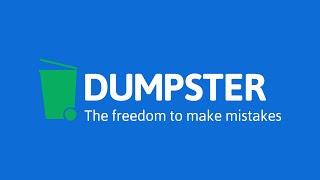 Dumpster Image & Video Restore YouTube video