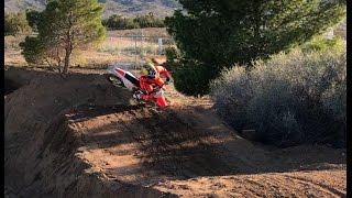 6. GNARLY CRASHES ON  MY TRACK!!! I SOLD MY KTM 65