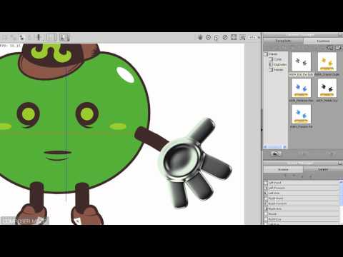 CrazyTalk Animator Tutorial – Character Design Part 3 – Joint Fitting and Character Profile