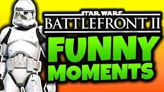 Star Wars Battlefront 2 Beta - Funny Moments! - (SWBF2 2017 Gameplay)