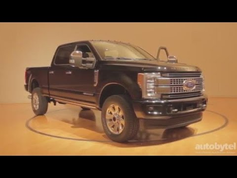 Ford Unveils the All-New 2017 F-250 Super Duty