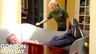 Gordon Ramsay Forced to Wait Over an Hour for RAW Fish! | Hotel Hell by Gordon Ramsay