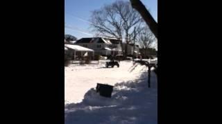 10. 2014 snow storm Polaris 550