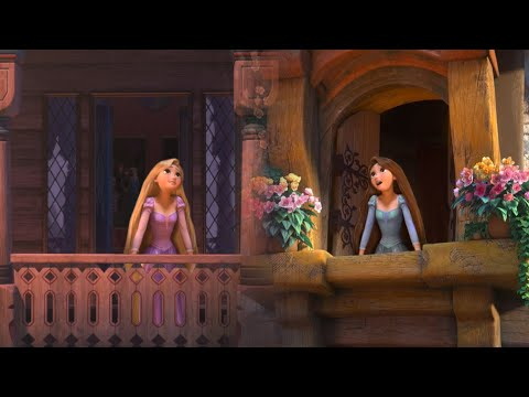 Rapunzel - Free [from Princess and the Pauper]
