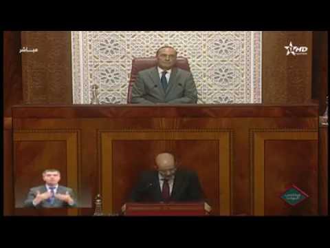 بنكيران يحظى بتصفيقات حارة في البرلمان