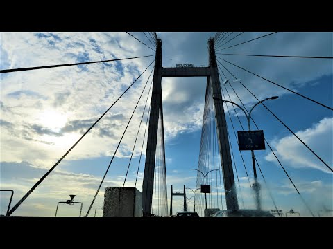 Longest Cable–Stayed Bridge In India - Second Hooghly Bridge or Vidyasagar Setu At Calcutta