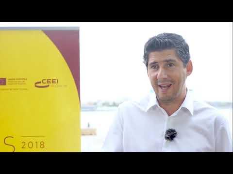 """Entrevista a Carlos Jiménez en el encuentro empresarial """"From Startup to Scaleup""""[;;;][;;;]"""