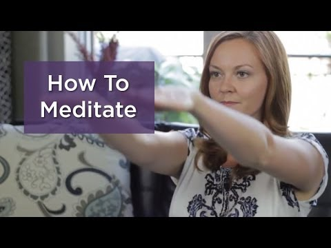 How to Meditate: A Powerful One-Minute Meditation