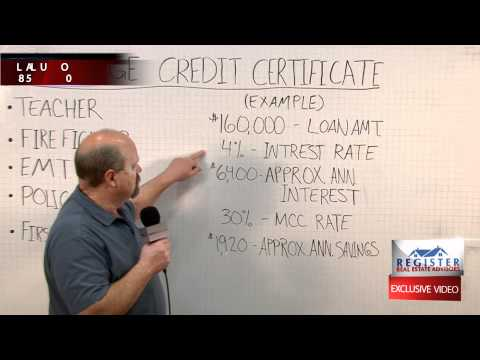 WBM#44 - Mortgage Credit Certificate