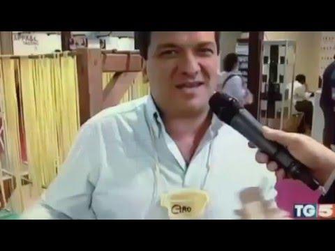 La Fabbrica della Pasta di Gragnano, servizio TG5 sul Pacchero gigante