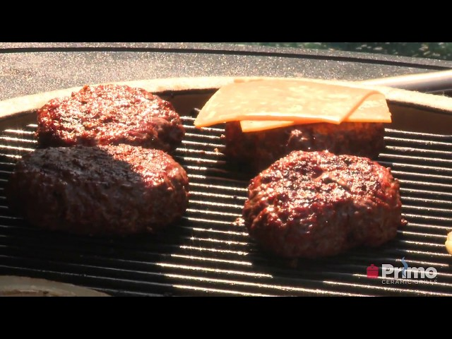 Primo University: CL05 Grilling Basics (Hamburgers)