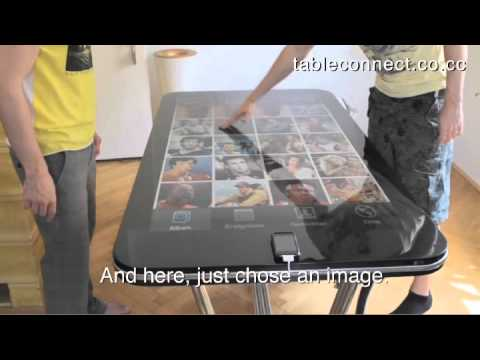 Cool Gadget: Giant iPhone table