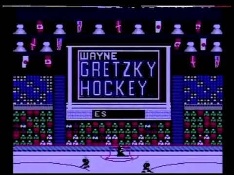 wayne gretzky hockey nes controls