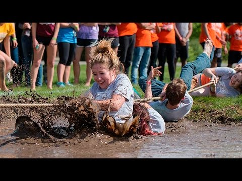 Featured Video: UIS Springfest Mud Tug-of-War 2017