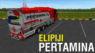 BUSSID VERSI MOBIL ELPIJI PERTAMINA | BUS SIMULATOR INDONESIA