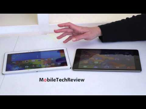 tab - Lisa Gade compares the Samsung Galaxy Tab Pro 10.1 and the Apple iPad Air. Check out our video review of the Samsung Galaxy Tab Pro 10.1 at: http://www.youtu...