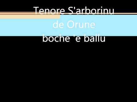 Tenore S'arborinu de Orune