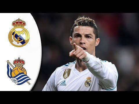 Real Madrid VS Real Sociedad 5-2 - All Goals & Highlights LaLiga 10/2/2018